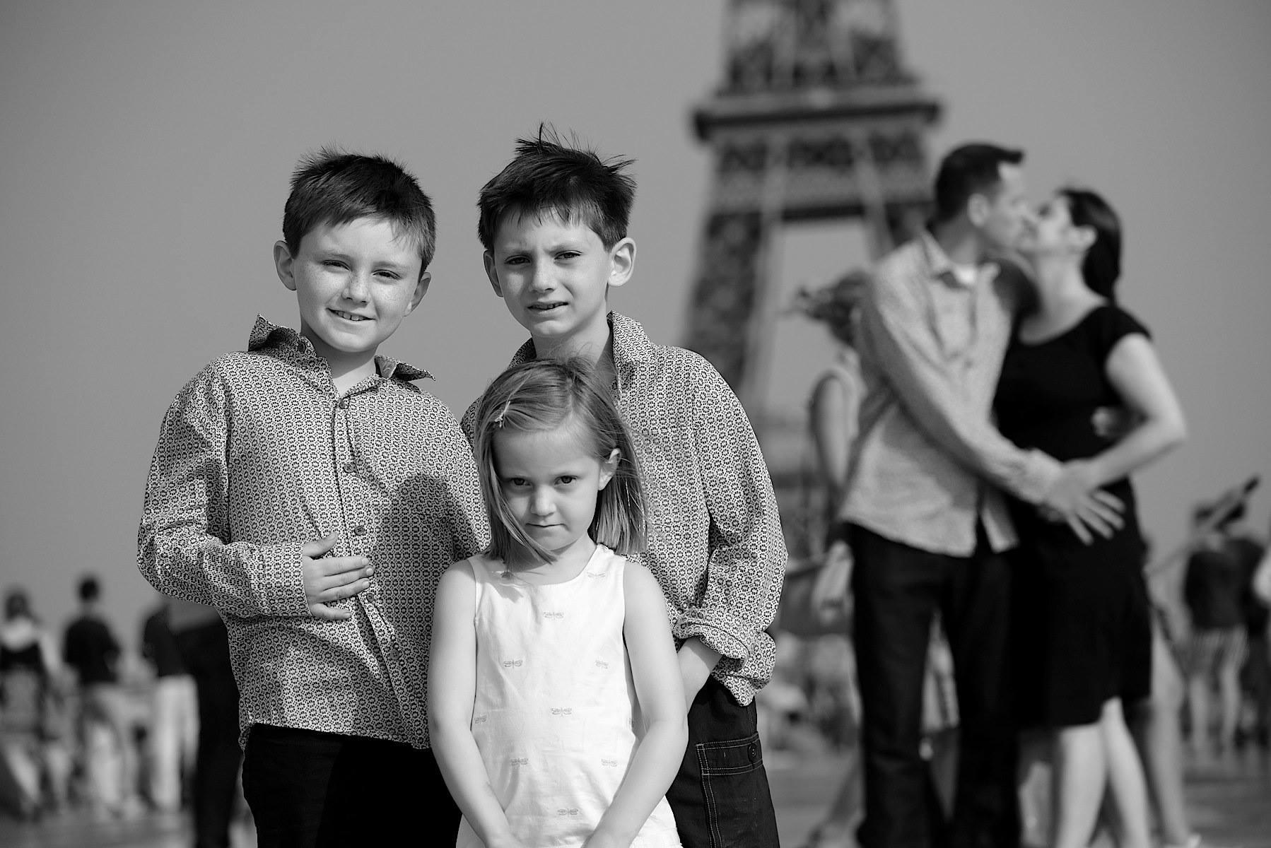 Family picture Paris